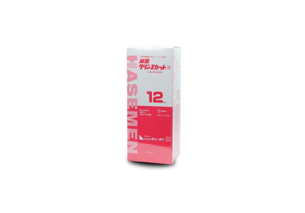 滅菌クリンスカットⅡ 5cm×5cm 1枚×100袋入