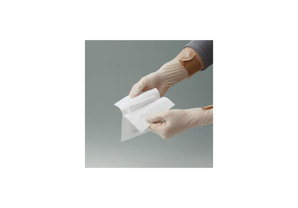滅菌クリンスカット2 Y字カット 7.5cm×7.5cm 1枚×100袋入【一般医療機器】
